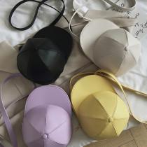 Women Crossbody Hat Shaped Zipper Handbags