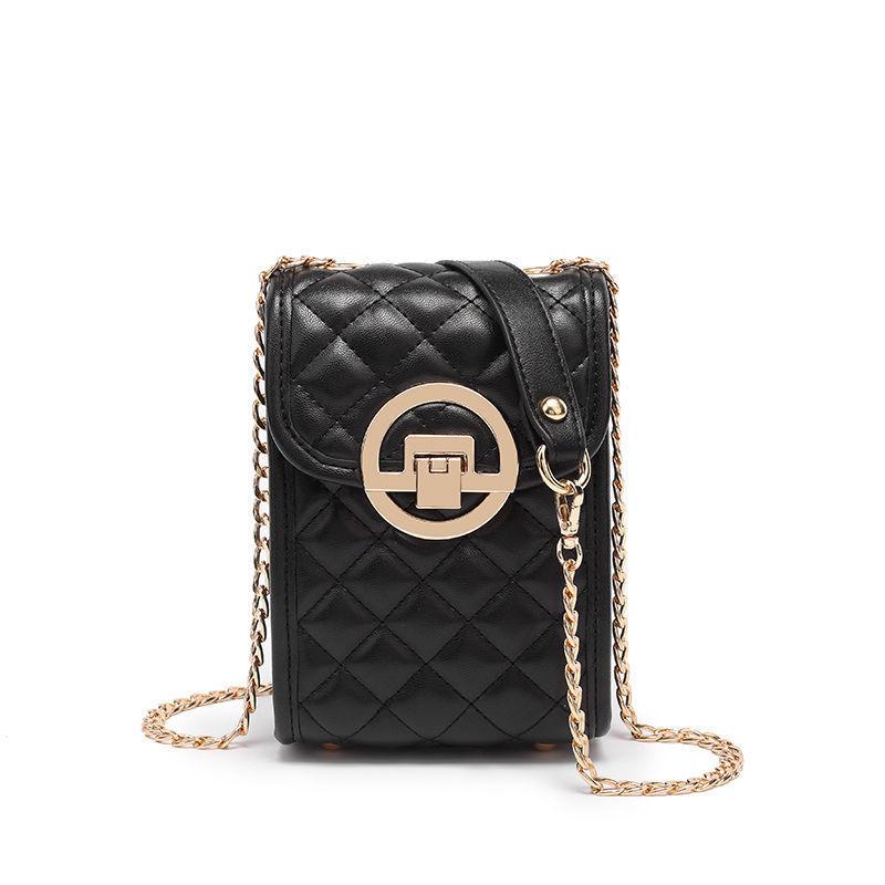 Women Crossbody Quilted Mobile Phone Handbags