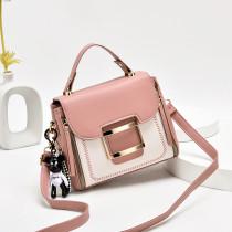Women Cute Pendant Crossbody Shoulder Square Bag