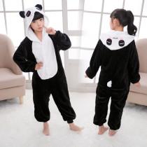 Kids Panda Onesie Kigurumi Pajamas Kids Animal Costumes for Unisex Children