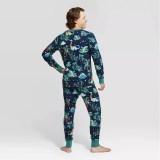 Jurassic Dinosaurs Santa Claus Christmas Family Matching Sleepwear Pajamas Sets With Dog Cloth
