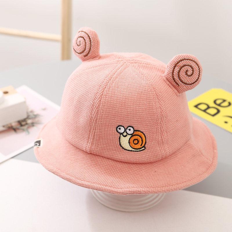 Kids Snails Sunhat Bucket Hat Fisherman Cap