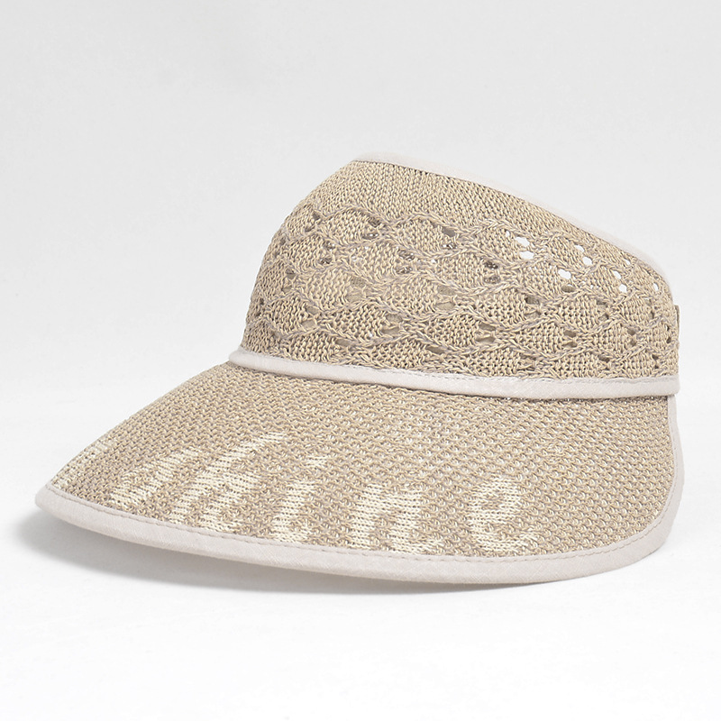 Kids Sun UV Protection Hat Straw Topless Summer Hat