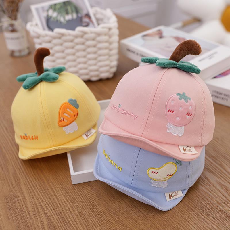 Kids Baby Fruit Sunhat Cute Baseball Cap