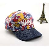 Kids Prints Spiderman Sunhat Baseball Hip-pop Cap