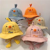 Kids 3D Little Duck Protection UV Sunhat Bucket Hat Fisherman Cap