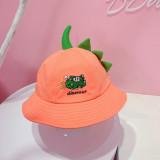 Kids 3D dinosaur Sunhat Fishman Bucket Hat Cap