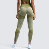Women Seamless Hip Hygroscopic Yoga Leggings Sport Tights Workout Fitness Pants
