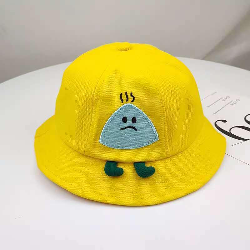 Kids Summer Sun Hat Cute Pattern Bucket Hat