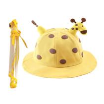 Kids Giraffe Anti Spitting Protective Visor Face Fawn Bucket Hat