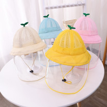 Kids Dustproof Anti Spitting Protective Fishmen Mesh Hat