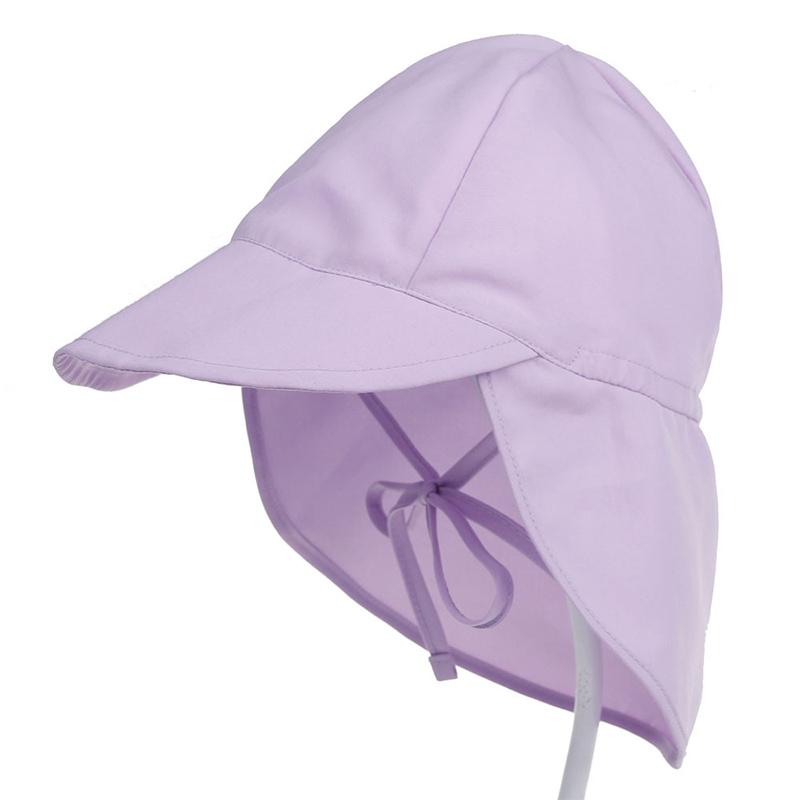 Kids Baby Breathable Mesh Outdoor Flap Sunhat Face Cap