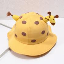 Kids Giraffe Summer Sun Hat Fawn Bucket Hat