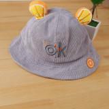 Kids Cute Fruit Ear Sunhat Bucket Hat