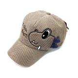 Kids 3D Dinosaur Corduroy Baseball Peaked Cap