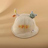 Kids Baby Little Frog Ear Sunhat Cute Bucket Hat Cap