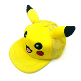 Kids Pikachu Mesh Sunhat Baseball Peaked Cap