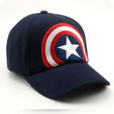 Kids Captain America Star Hip-hop Sunhat Baseball Peaked Cap