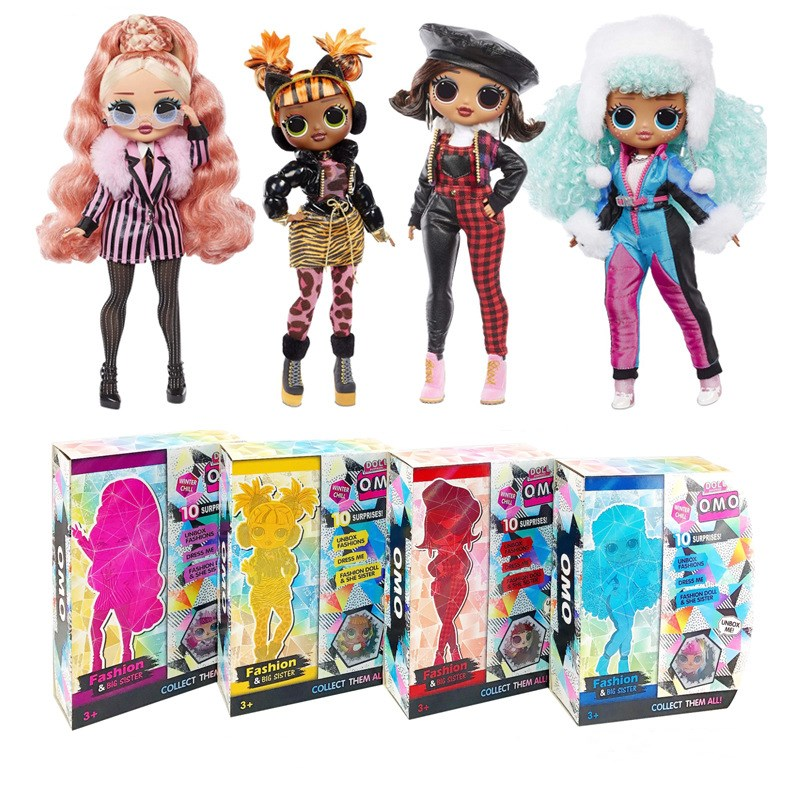 L.O.L. Surprise Dance Girl Fashion Doll Mystery Blind Box Collectable Favourite Musical Band Characters Toys
