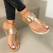 Women Adjustable Flip-Flops With Buckles Sandals