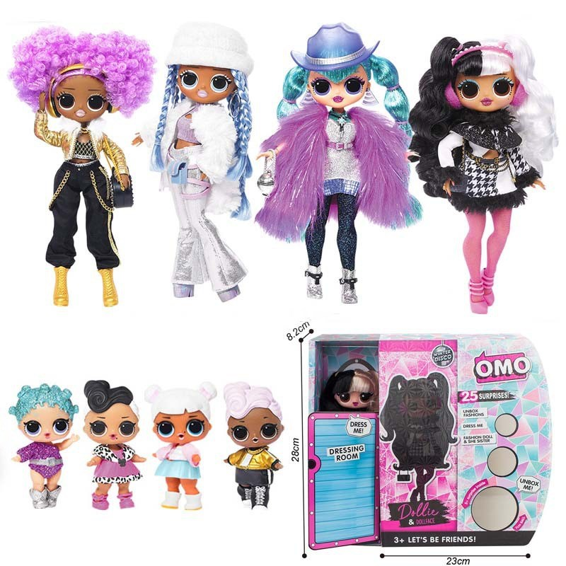 L.O.L. Surprise Dance Girl Fashion Doll Mystery Blind Box Movable Doll Toy