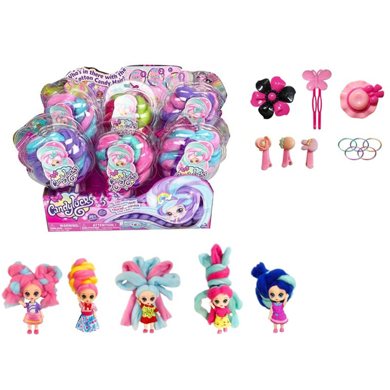 Candylocks Icecream Style Deluxe Scented Collectible Doll with Accessories Random Style