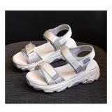 Women Muffin Velcro Leisure Sports Wedge Sandals