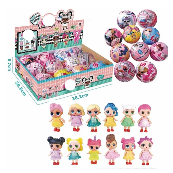 L.O.L. Surprise Girl Doll Mystery Blind Ball Toy Random Style