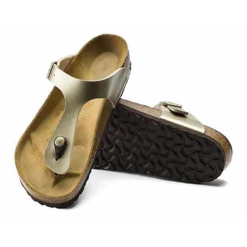 Women Cork Flip Flop Flatform Sandals