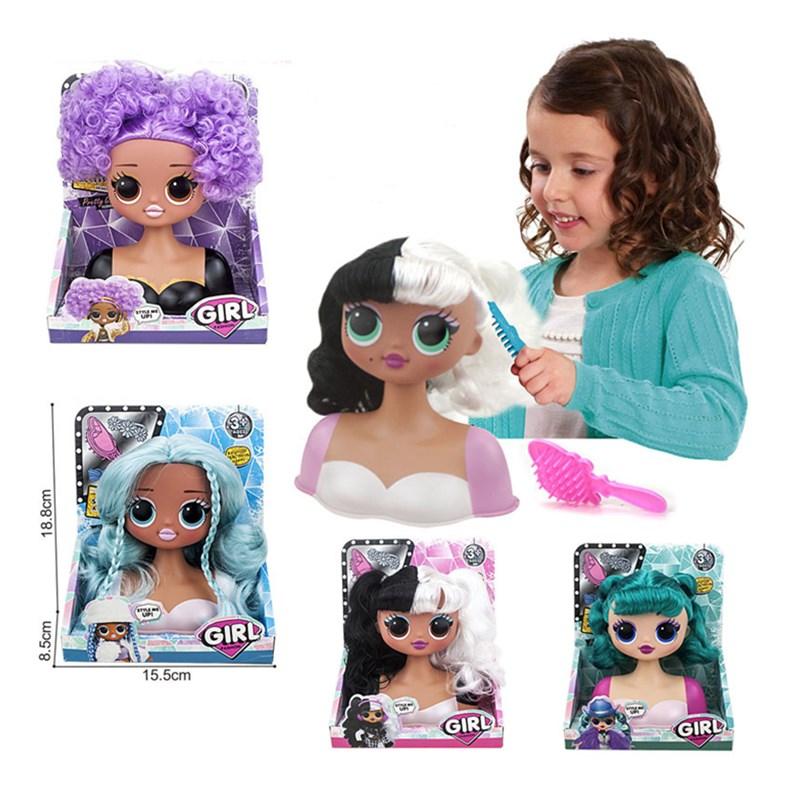 L.O.L. Surprise Girl Comb Brush Hair Toys Random Style