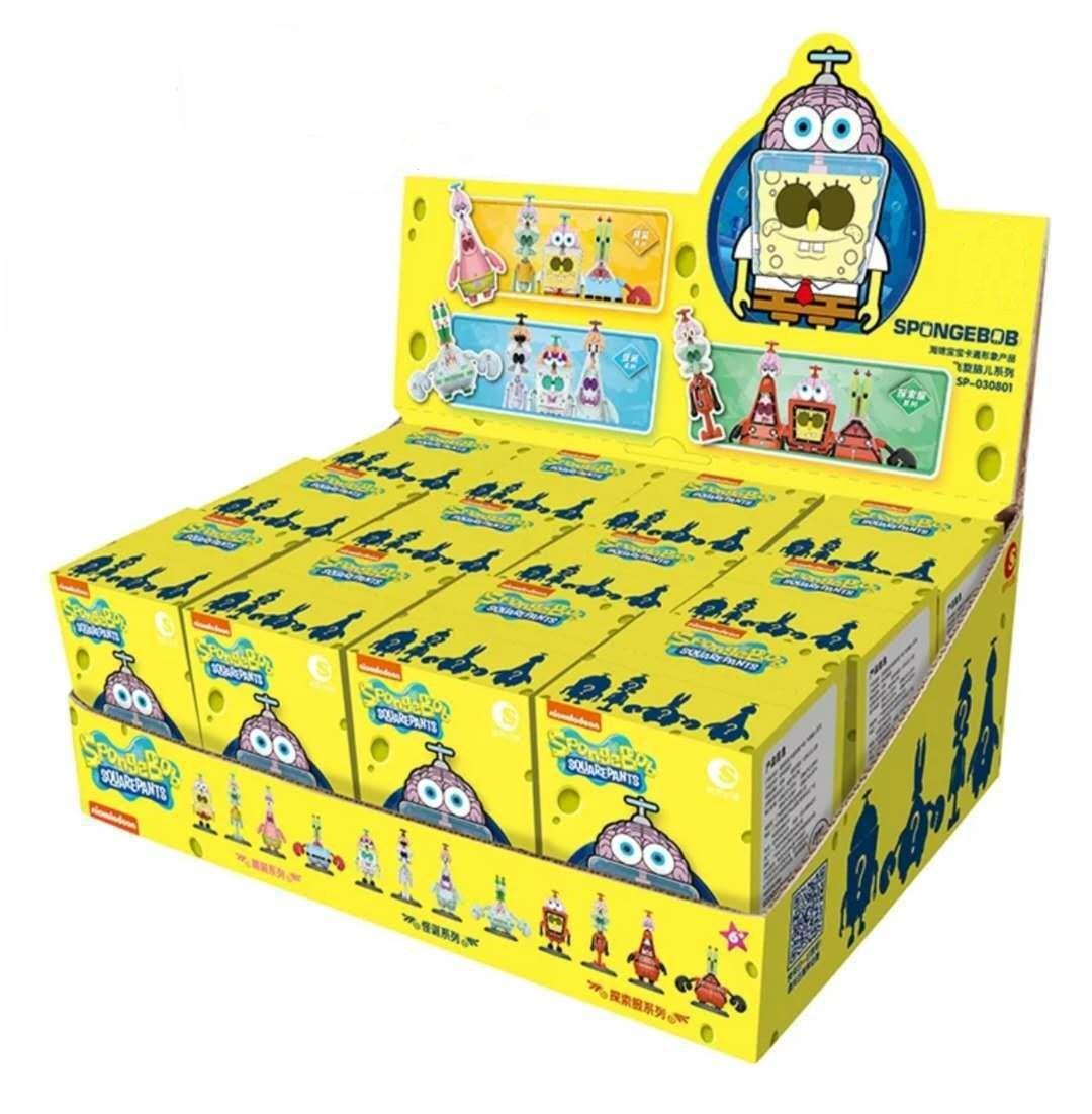 Spongebob Buliding Mystery Blind Toy Random Style