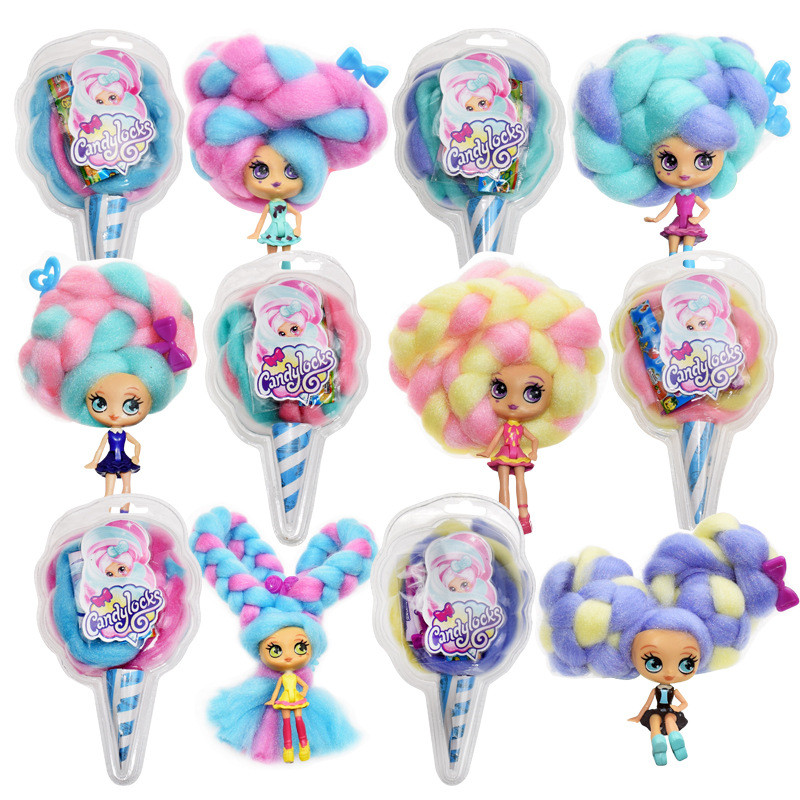 Candylocks Sugar Style Deluxe Scented Collectible Doll with Accessories Random Style