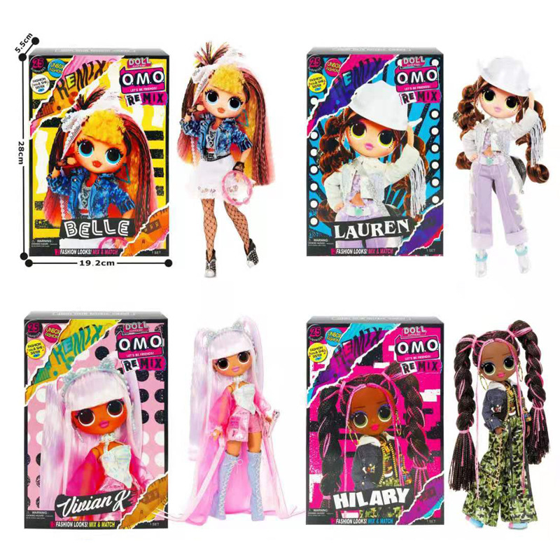 L.O.L. Surprise Dance Girl Fashion Doll Mystery Blind Box Collectable Favourite Musical Record Characters Toys