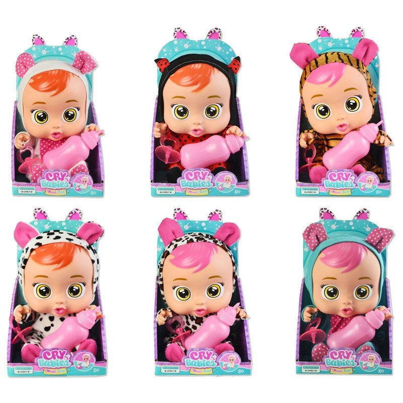 Cry Babies Magic Tears Winged With Milk Bottle Random Style