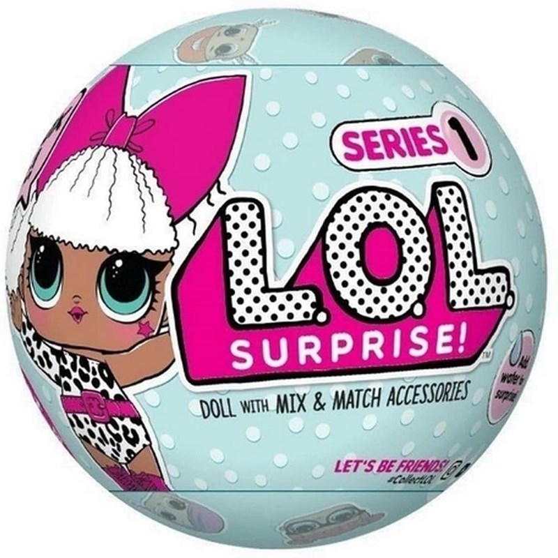 L.O.L. Surprise Doll with Water Surprise Mystery Blind Ball Toy Random Style
