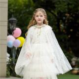 Kid Girl Sequins Princess Cloak Halloween Hotsale