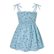 Toddler Girl Floral Strap Summer Dresses