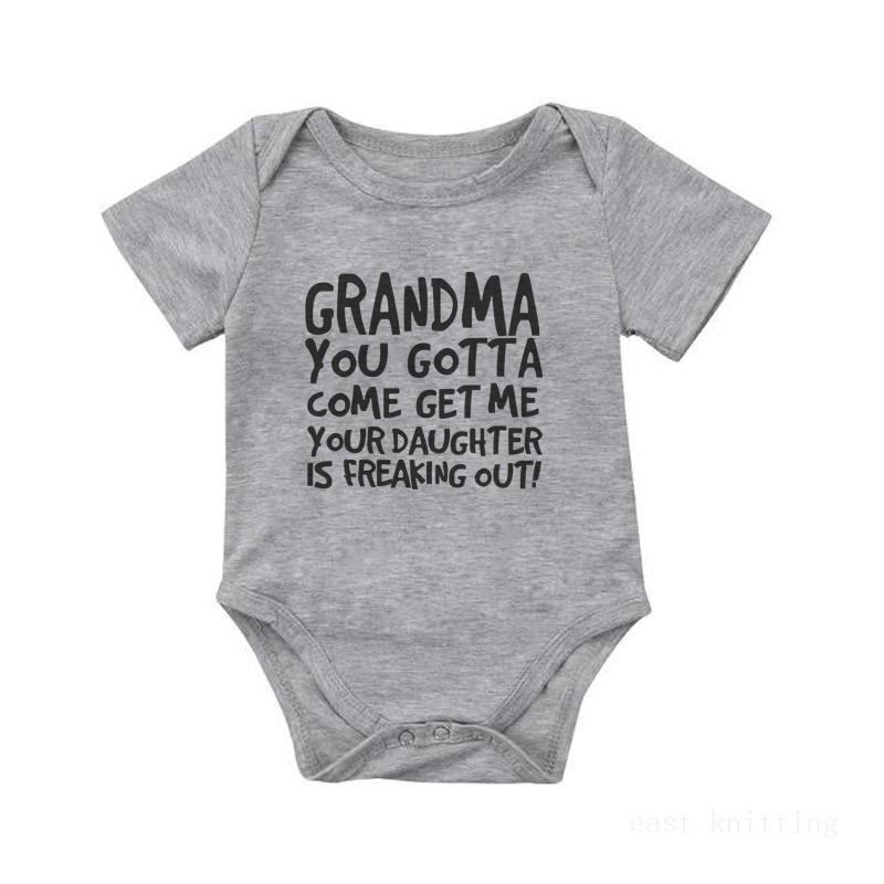 Baby Girl Letter Slogan Pattern Bodysuit