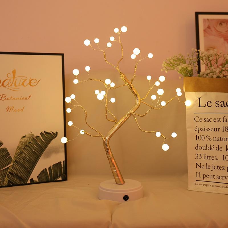 Night Light Luminous Tree USB Decoration Light