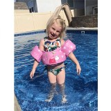 Toddler Kids Swim Vest with Arm Wings Floats Life Jacket Print Peppa Pig