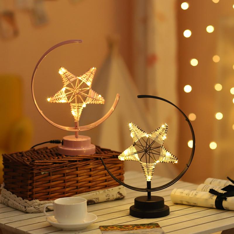 Night Light Girlish Star Lamp USB Decoration Light