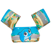 Toddler Kids Dolphin Swim Vest with Arm Wings Floats Life Jacket