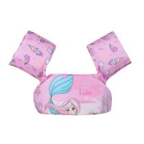 Toddler Kids Print Mermaid Swim Vest with Arm Wings Floats Life Jacket