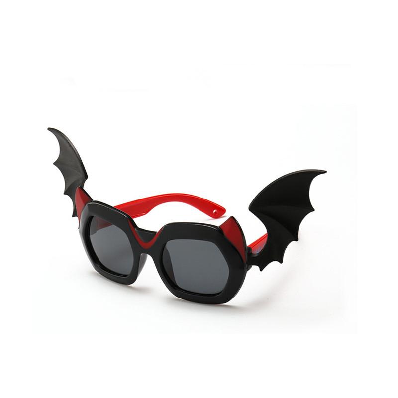 Halloween Kids Bat Polarized Silicone Sunglasses