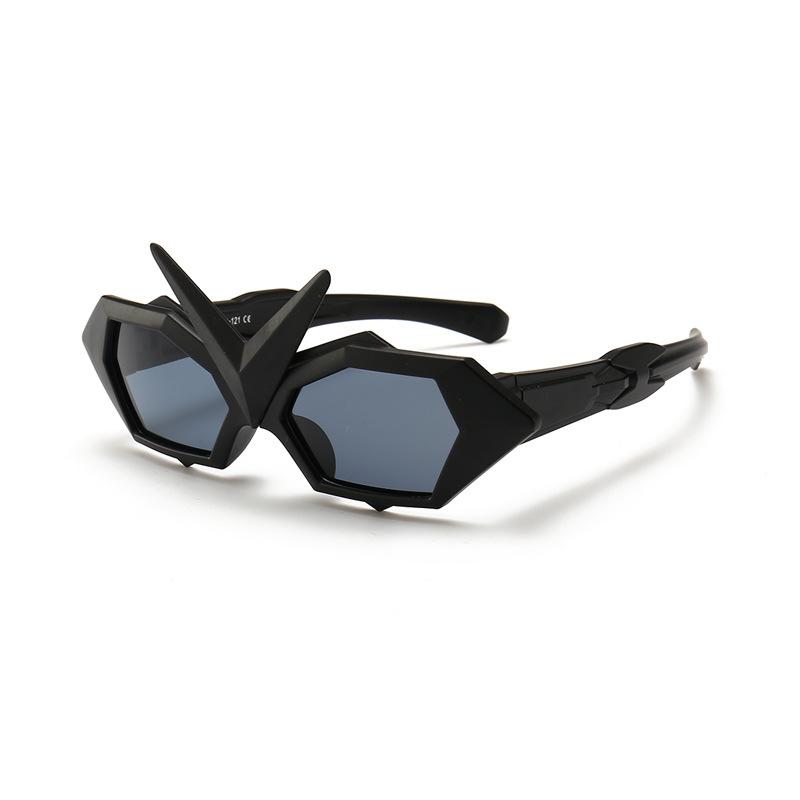 Kids Transformers Irregular Polarized Silicone Sunglasses