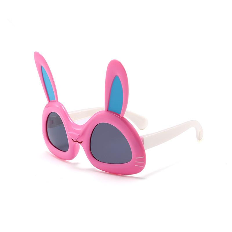 Kids Cartoon Rabbit Polarized Silicone Sunglasses