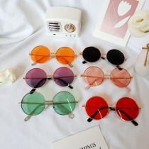 Kids Round Retro Fashion Sunglasses