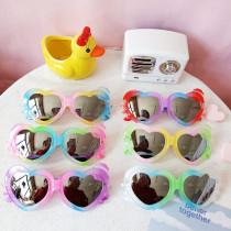 Kids Cartoon Heart Shaped Anti-UV Protection Fashion Sunglasses