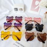 Kids Cute Mickey Shaped Anti-UV Protection Fashion Sunglasses