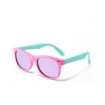 Kids UV Protection TPEE Rubber Polarized Light Tinted Silicone Sunglasses